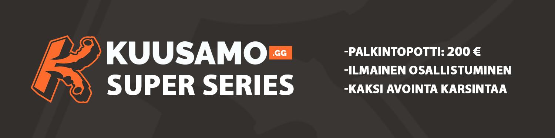KUUSAMO.gg Super Series CSGO-turnaus