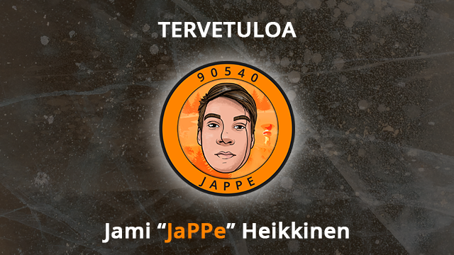 """Tervetuloa Jami """"JaPPe"""" Heikkinen CS:GO-joukkueeseen!"""