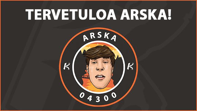 Stream team laajenee: Tervetuloa Arska!