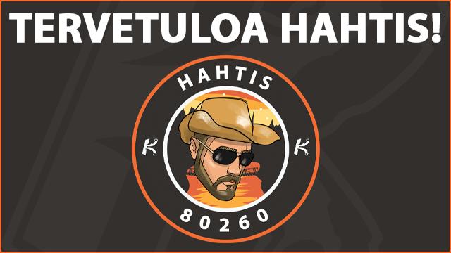 Stream team laajenee: Tervetuloa Hahtis