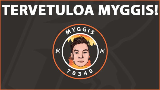 Tervetuloa Myggis! CSGO-joukkue saa kuudennen pelaajan